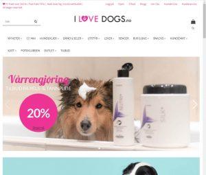 Forsiden til I Love Dogs