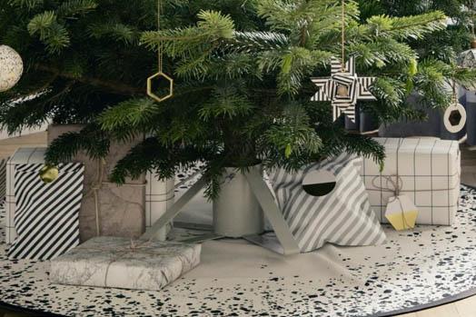 Ferm Living juletrefot grå
