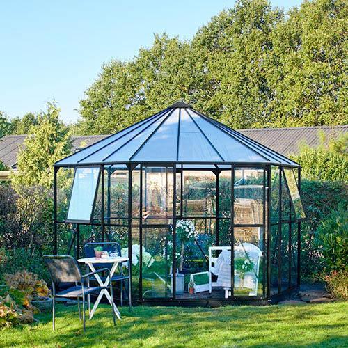 Atrium drivhus