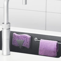 Bymagnet Magnetisk oppvaskklutholder