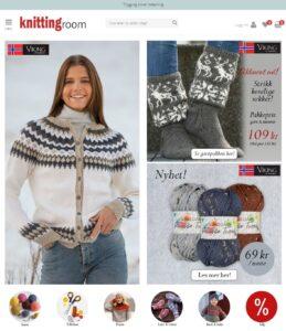 Kjøp garn på nett: Knittingroom